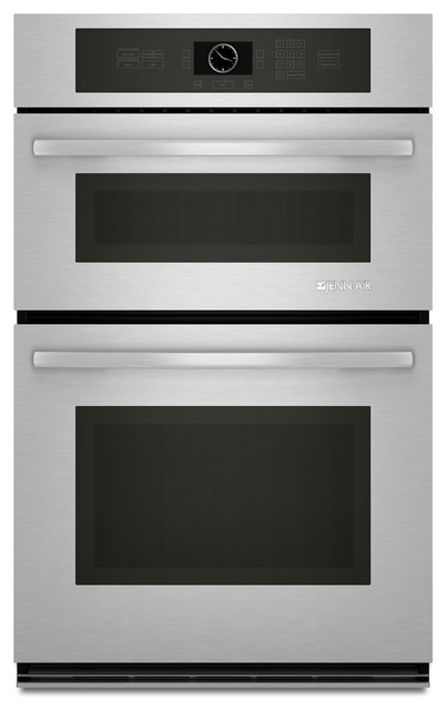 "Jenn-Air 27"" Combination Microwave/wall Oven, Stainless Steel/Black 