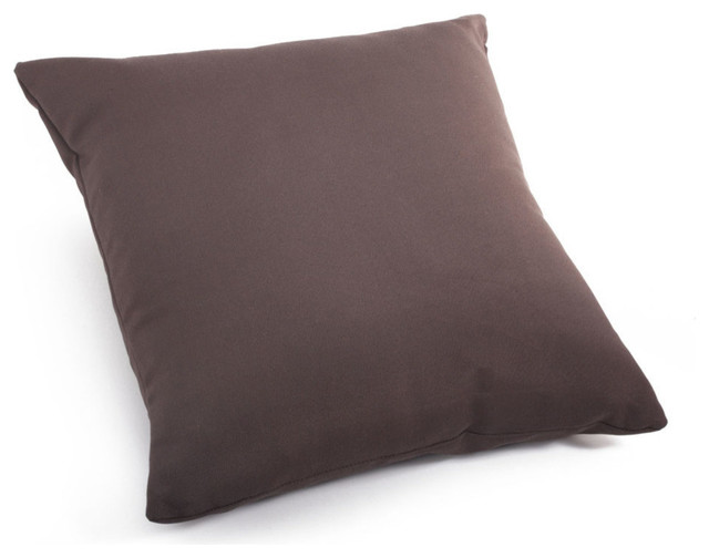 Modern Pillows And Throws : Zuo Modern Laguna Large Pillow Espresso - Modern - Decorative Pillows - by Beyond Stores