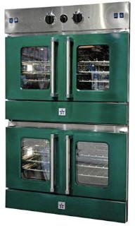 BlueStar Wall Ovens in Green ovens