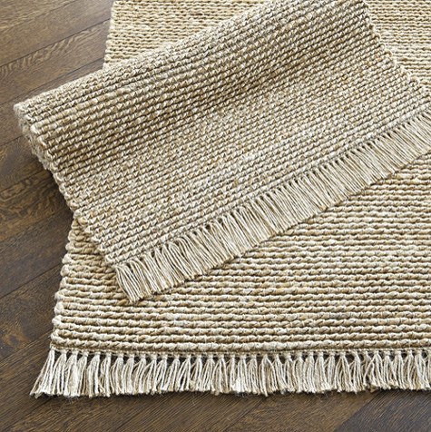 Twisted Rope Jute Rug traditional-rugs