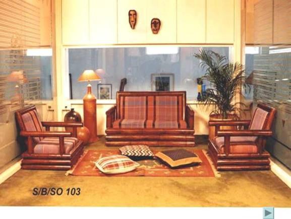 Bamboo Furniture asian-sofas