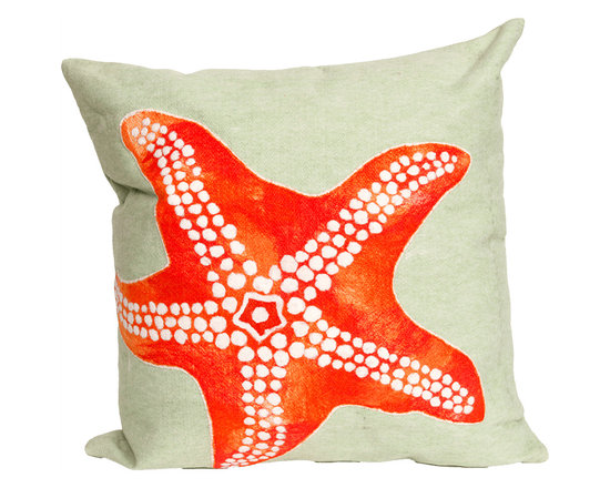 Liora Manne Starfish Throw Pillow