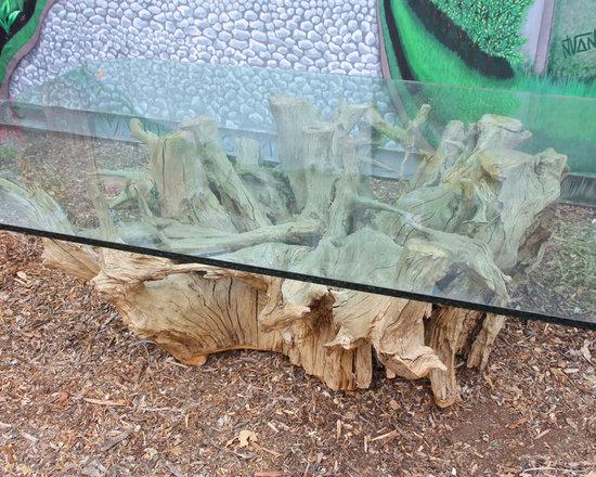 Natural Topanga Tree Root Table -