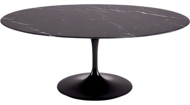 78quot Oval Blommis Marble Top Dining Table Black  : contemporary dining tables from www.houzz.com size 640 x 354 jpeg 22kB