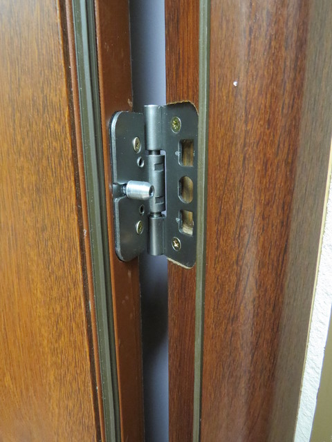 3 point security lock system modern front entry metal