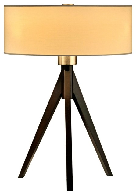 Contemporary Nova Tripod Table Lamp contemporary-table-lamps