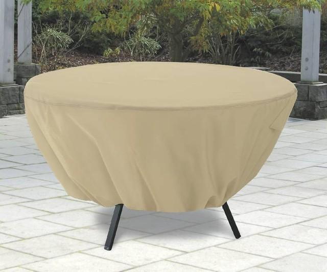 terrazzo round patio table cover outdoor furniture