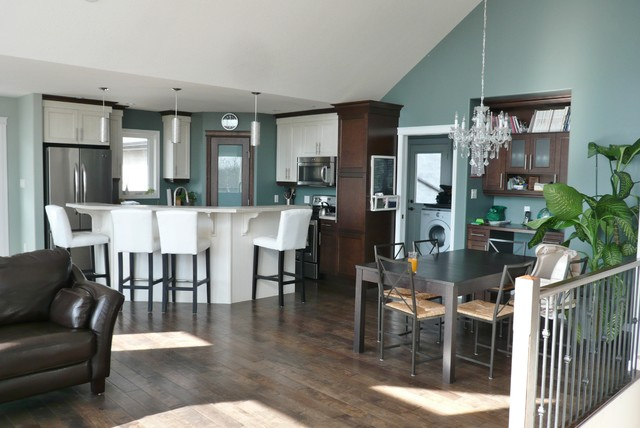 New Home traditional-kitchen