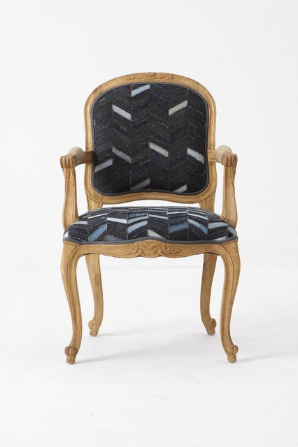 Grafton Chair Denim Eclectic Dining Chairs By
