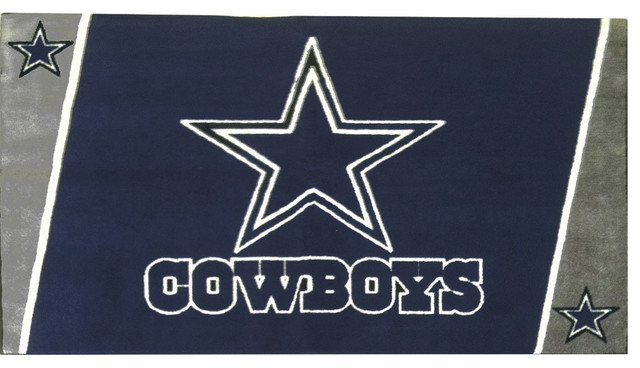 Nfl Dallas Cowboys 4 X 6 Area Rug Contemporary Game