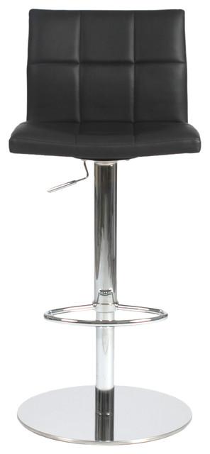 Cyd Bar/Counter Stool-Black/Chrome contemporary-bar-stools-and-counter-stools