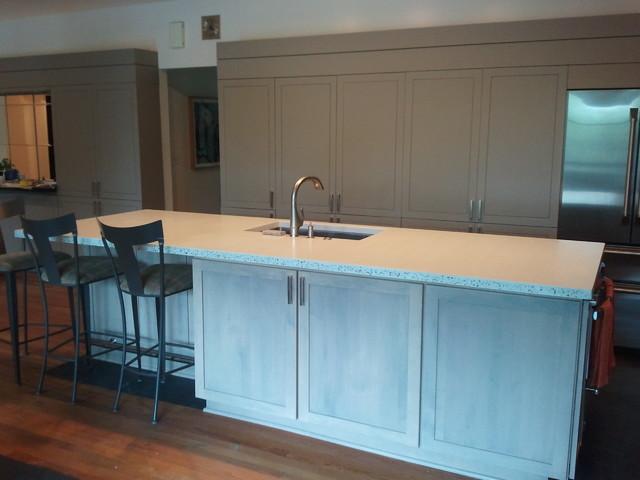 Concrete Countertop kitchen-countertops