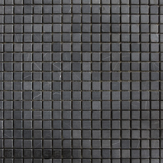 Black Marble Natural Stone Mosaic contemporary-tile