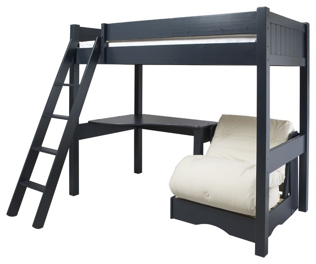 Warwick High Sleeper With Futon Modern Kids Beds By