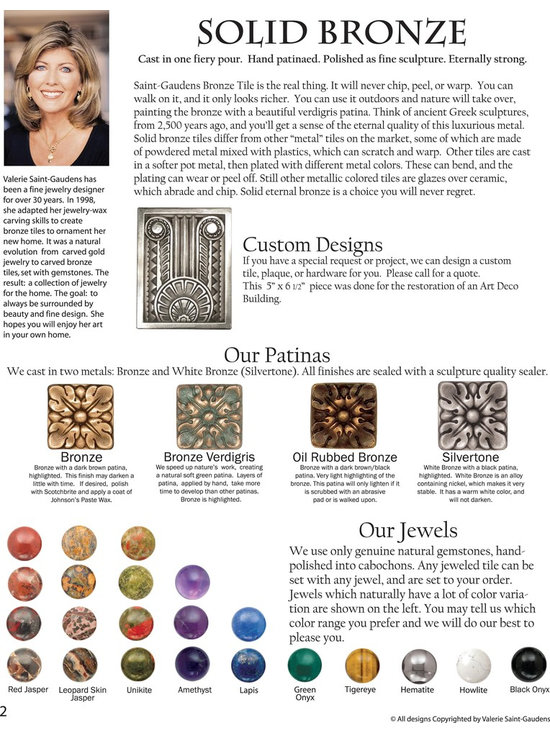 Classic Collection - Our creative director is a jeweler, and we think of our product as jewelry for your home.
