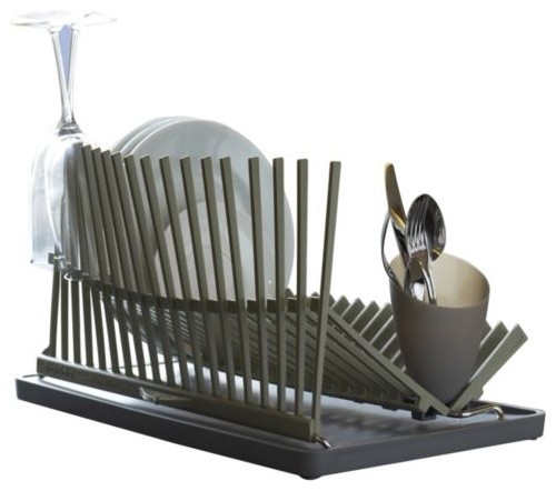 High & Dry Dishrack by Black + Blum modern-dish-racks