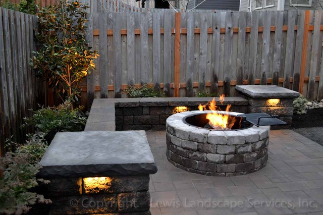 Paver Patio, Seat Wall, Fire Pit, Outdoor Lighting. Patio Furniture Discount Vancouver. Brick Patio Paver Patterns. Decorate Your Patio On A Budget. Agio Heritage Patio Furniture Reviews. Outdoor Patio Swings Gliders. Budget Patio Furniture. Patio Slabs That Look Like Wood. Hanamint Patio Furniture Sale