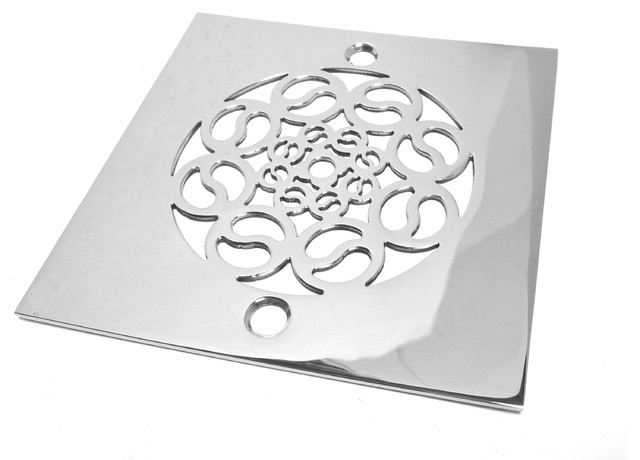 Catalan 1600 Shower Drain, Brushed Stainless Steel/Nickel contemporary-showerheads-and-body-sprays
