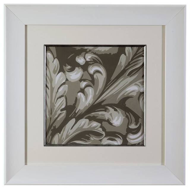 Decorative Relief II Framed Art contemporary-artwork