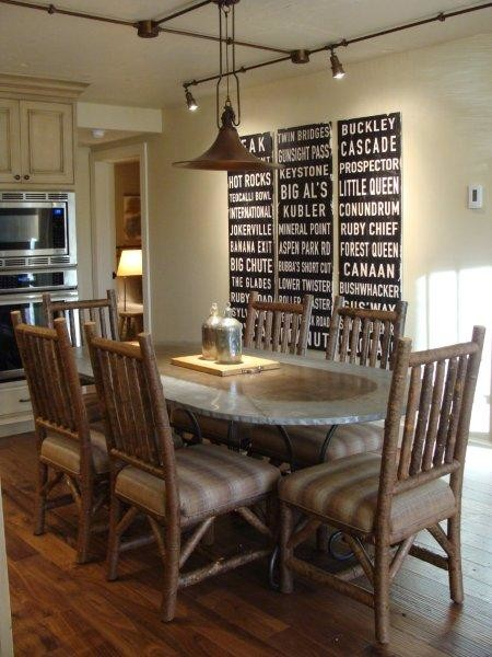 Modern Rustic Dining Rooms