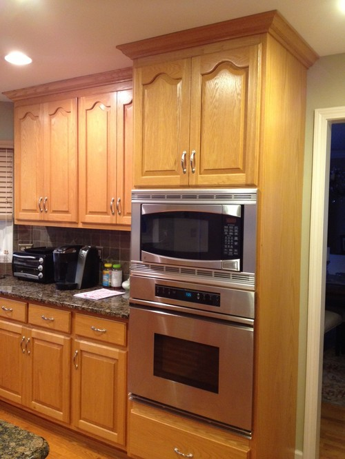 Painting Oak Wood Kitchen Cabinets