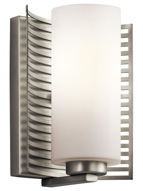 Kichler Lighting - Kichler 45431CH Chrome 1-Bulb Wall Sconce from the Selene Collection - Bulb Base and Compatibility: