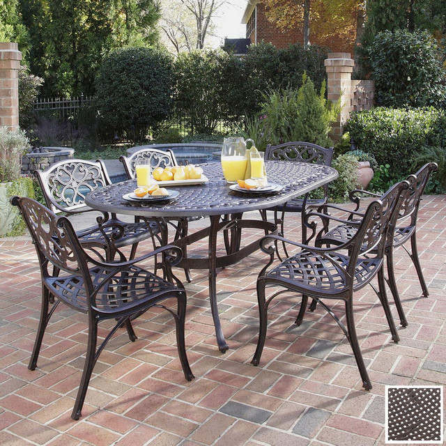 Patio Dining Set Traditional Patio Furniture And Outdoor Furniture