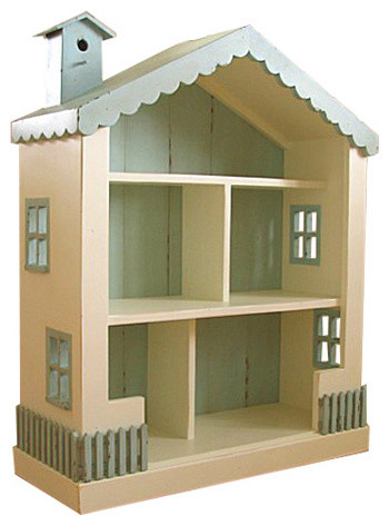 Bradshaw Kirchofer Cottage Dollhouse Bookcase - Traditional - Kids Bookcases - by Layla Grayce