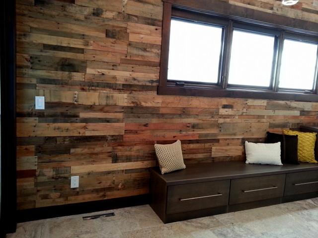 Reclaimed Wood Wall Paneling Craftsman Wall Panels