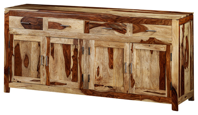 Yada Sideboard Made of Rosewood , Natural traditional-buffets-and-sideboards