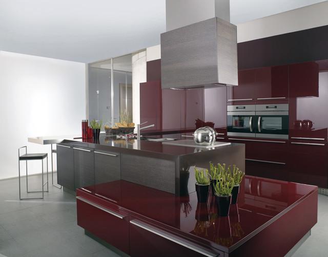 Porcelanosa Kitchen Cabinets - Modern - Kitchen Cabinetry - other metro - by Urbanata