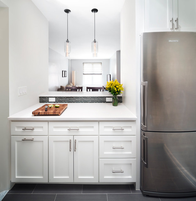 Modern Lighting In The Irving Place Kitchen Contemporary