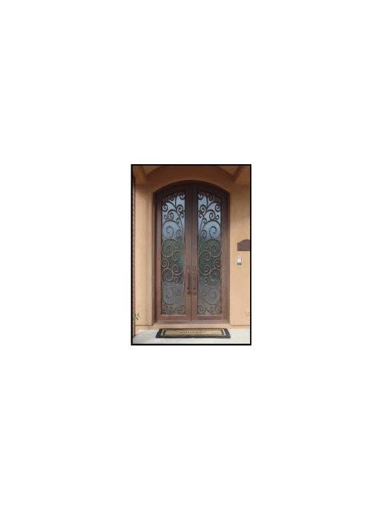 Aphrodite Iron Double Doors -