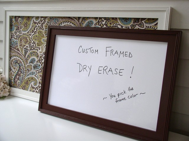 Dry Erase Magnetic Bulletin Boards modern-bulletin-boards-and-chalkboards
