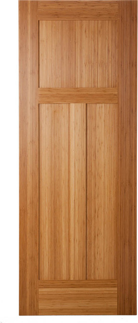 Bamboo Doors traditional interior doors