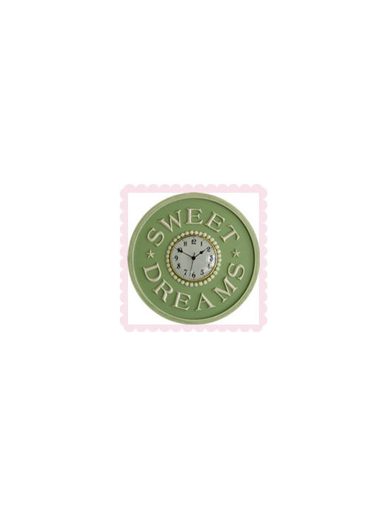 Children's Clocks by Marie Ricci - Sweet Dreams Children's Clock by Marie Ricci