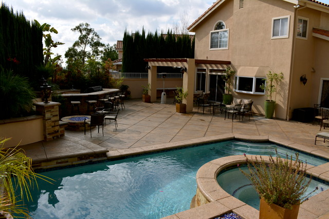 Backyard With Pool Remodel : cld pool spa pools spas