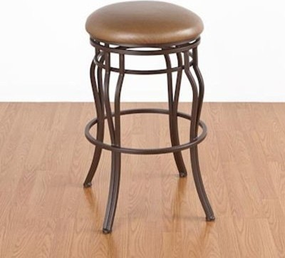 Hartford 26 in. Counter Stool - Backless - Swivel modern-bar-stools-and-counter-stools