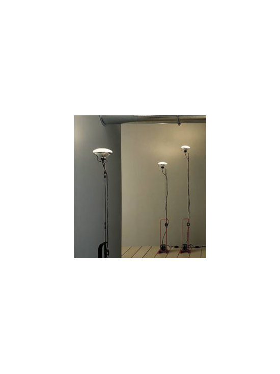 Toio Floor Lamp By Flos Lighting - Flos Toio floor lamp is a Castiglioni classic, the light is included in many museum collections including the Museum of Modern Art in New York.