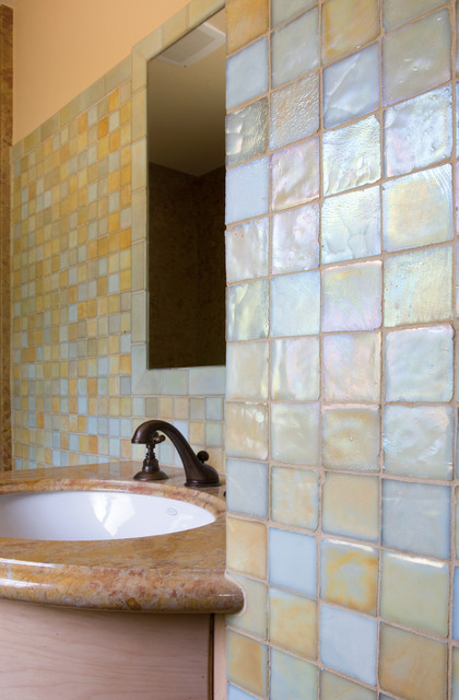 Oceanside Glass Tile - bathroom tile - by Green Depot