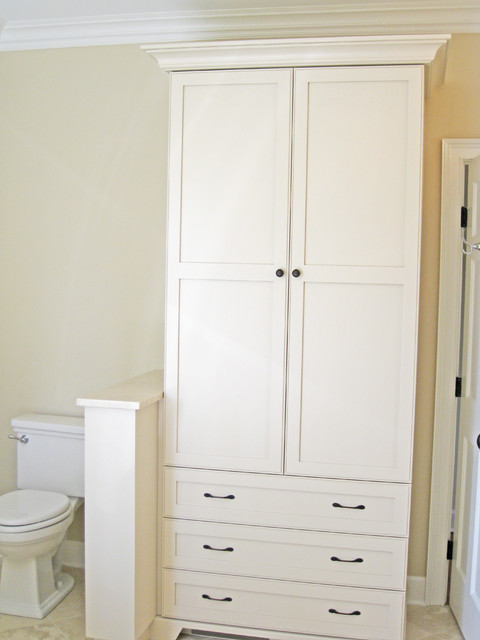 bathroom linen cabinet traditional charleston by sea island