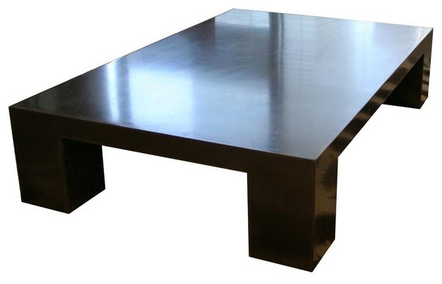 Wulf Block Coffee Table Large Modern Coffee Tables By 2Modern