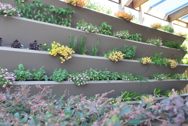 VWALL Vertical Planter Boxes Outdoor Pots And Planters