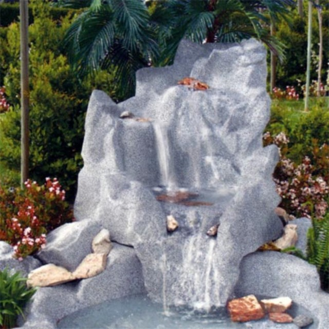 Sedona Spillway Water Fountain traditional-outdoor-fountains-and-ponds