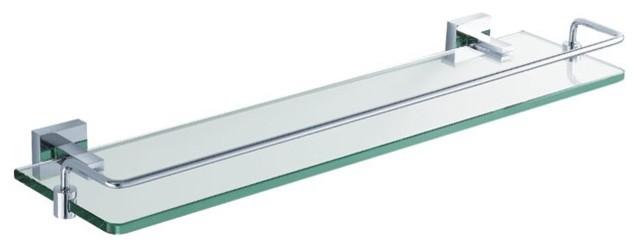 Kraus KEA-14445CH Aura Bathroom Shelf with Railing modern-bath-and-spa-accessories