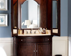 Ambella - Veronica Sink Armoire traditional bathroom vanities and sink consoles