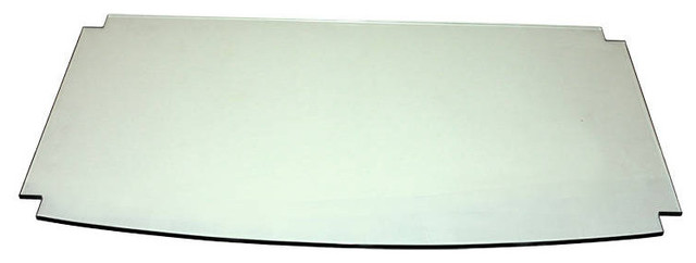 Sovereign AV TV Stand 1 Clear Glass Shelf Only contemporary-home-electronics