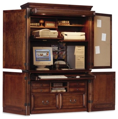 Mount View Armoire by Kathy Ireland - Traditional - Storage Cabinets - by Hayneedle