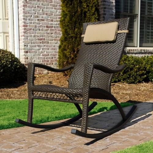 Tortuga Outdoor Tuscan Lorne Rocking Chair modern-rocking-chairs