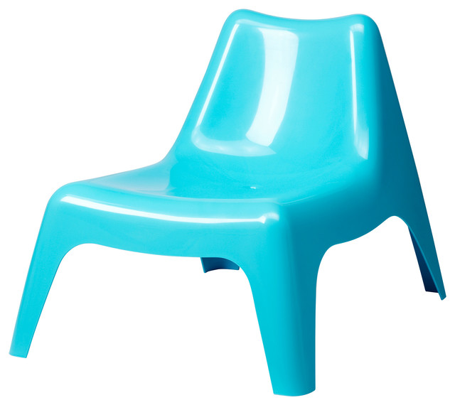 Ikea PS Vågö Easy Chair Turquoise Modern Outdoor Lounge Chairs by IKEA